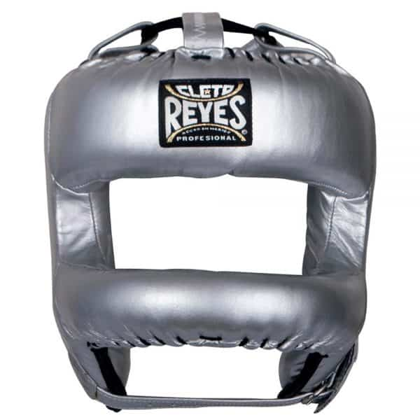 cleto-reyes-redesigned-headgear-with-nylon-face-bar-silver-front.jpg
